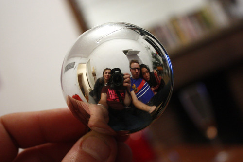 Group pic in the ball