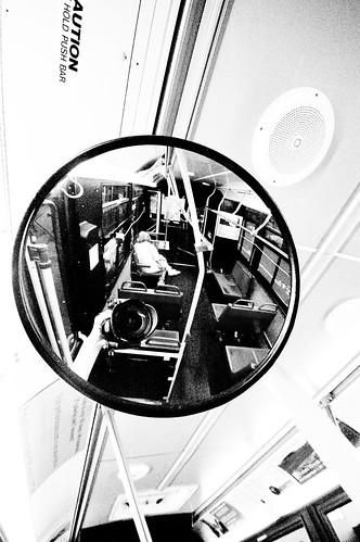 Bus Interior Mirror