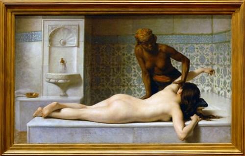 Le massage, scène de hammam (musée des A by dalbera, on Flickr