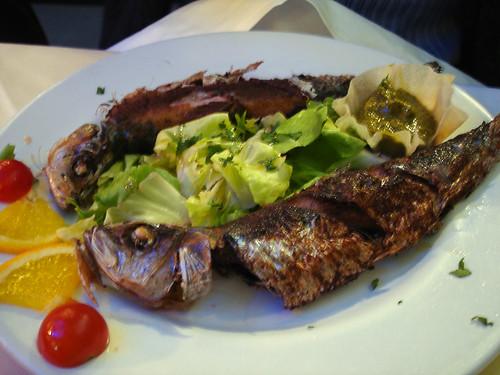 Sardines Sauce Chermoula