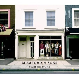 "Mumford & Sons ""Sigh No More"" album cover"