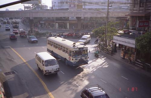 Bangkok Hino Bus in 1987