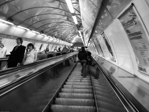 Loooong escalator by you.
