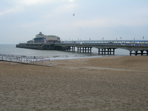 Bournemouth Pier, December 2005.