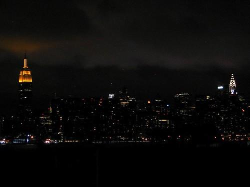 Manhattan skyline seen from Williamsburg.