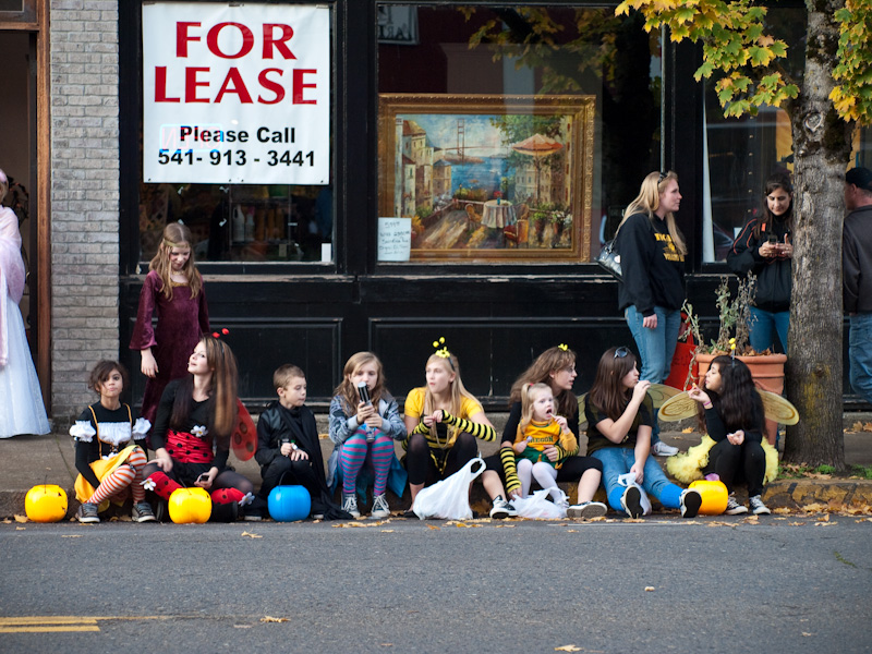 Electric Halloween Parade in Cottage Grove