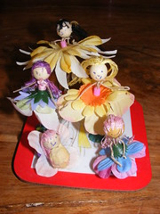 Fairies made by the girls