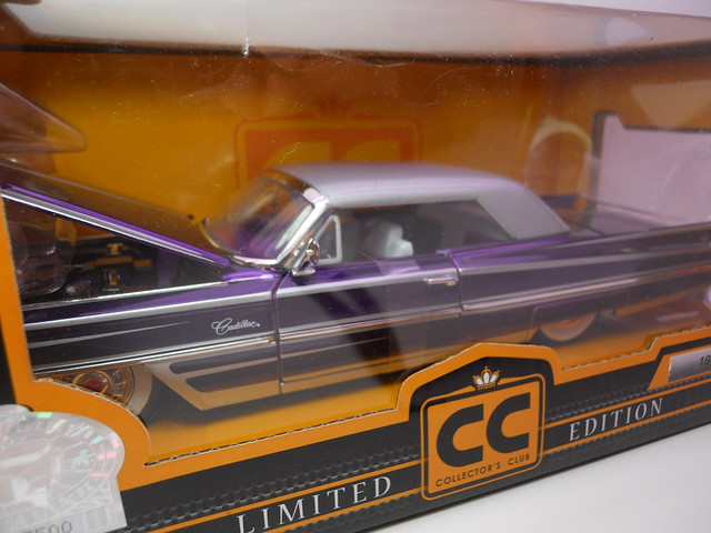 jada toys collectors club 1963 cadillac (2)