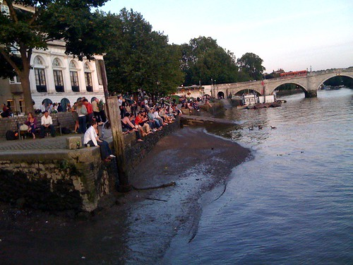 Photo: Post UX Camp London riverside setting (Richmond Upon Thames)