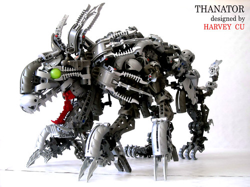 LEGO Bionicle Avatar Thanator beast