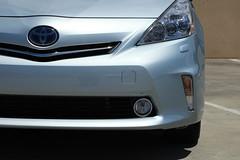 Toyota's new Prius V Hybrid car