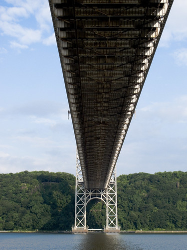 Down under the George Washington Bridge by you.