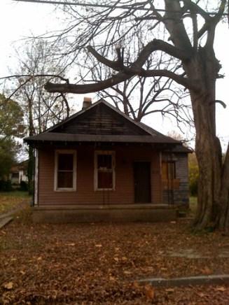 Aretha Franklins birthplace, Memphis, Tenn.