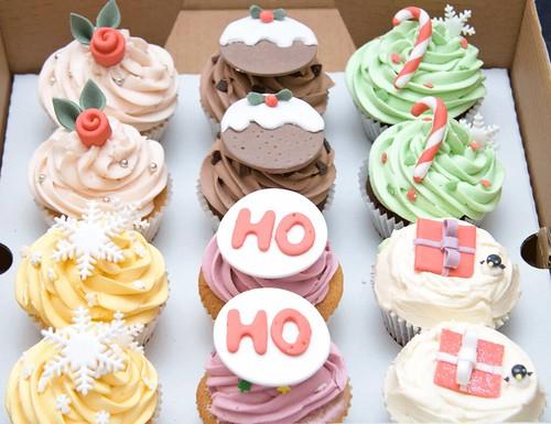 Christmas Cupcake Giftbox