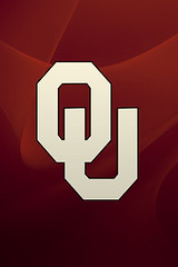 Oklahoma Sooners iPhone wallpaper
