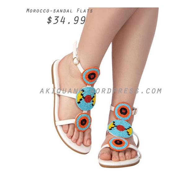 Morocco-sandal Flats
