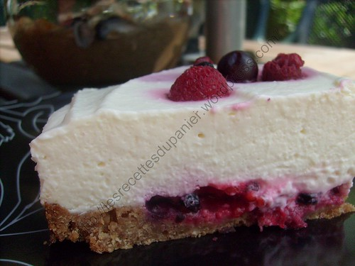 Cheesecake aux fruits rouges / Berry cheesecake