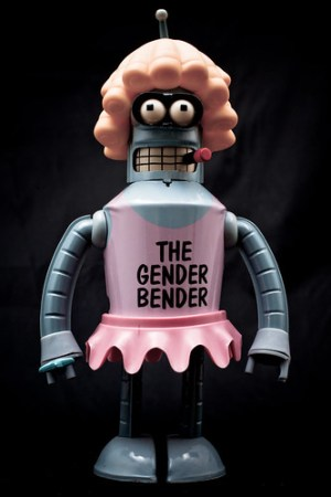 gender bending robot