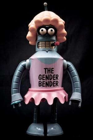 gender bending robot
