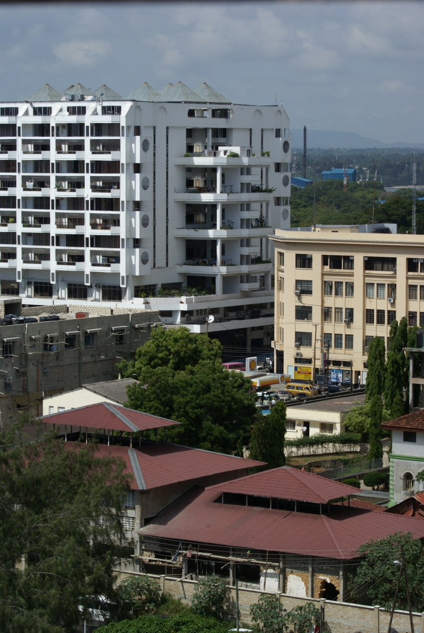 Mombasa aerial