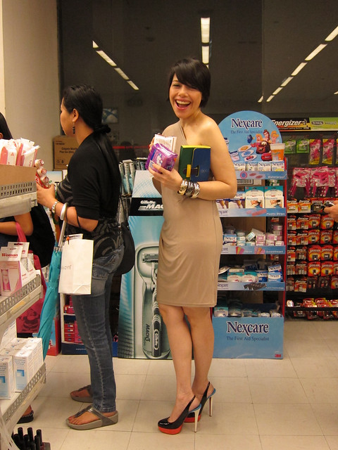 Pia Magalona at Mercury Drug