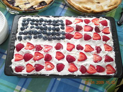 """Flag Cake"" - Made By Christine Turn..."