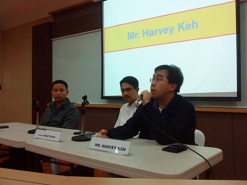 Mayor Fermin Mabulo, Councilor Bolet Banal, Mr. Harvey Keh