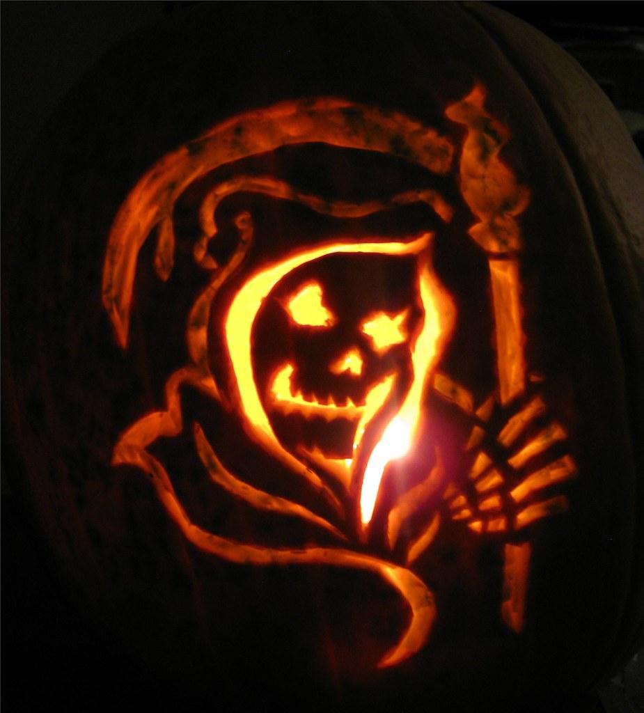 Halloween Kurbis Schnitzen Malvorlage Und Anleitung 3