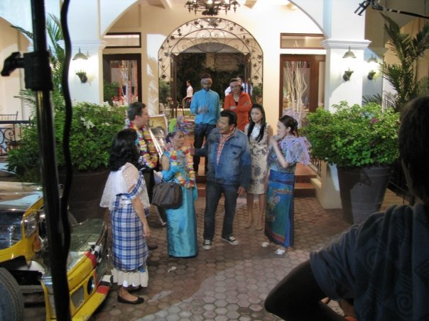 The meeting of the two families during the Pamanhikan at Paseo del Sol.