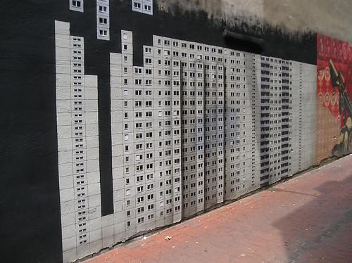 Alley street art