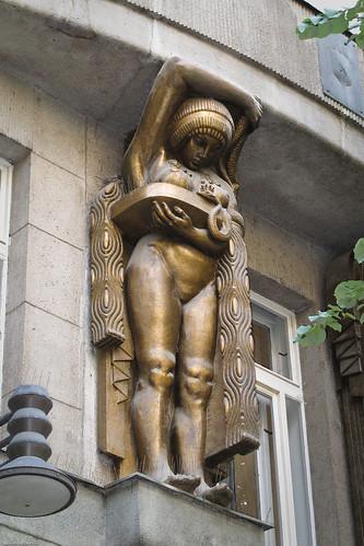Nouveau statue by you.