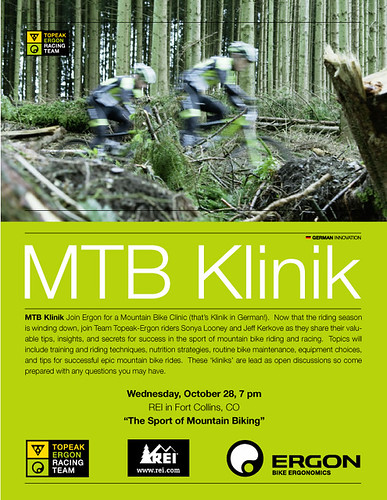 MTB Klinik - Ft Collins, CO