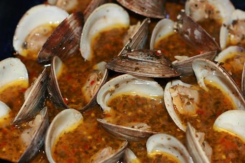 I made clams