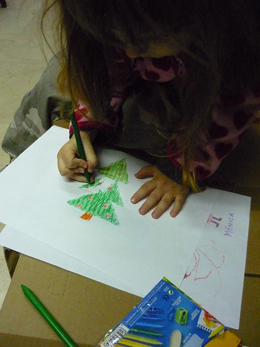 Drawing a Xmas tree