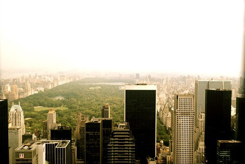 Looking North over a Hazy Central Park