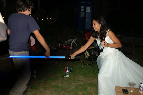 Light-saber bride