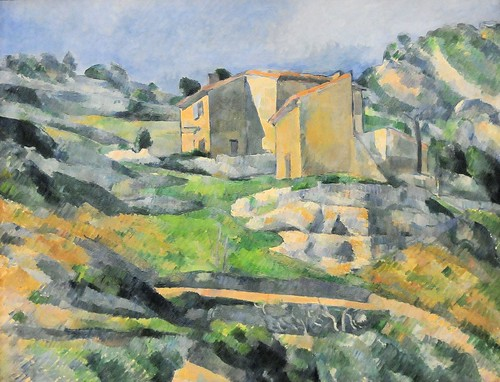 Paul Cèzanne - Houses in Provence: The Riaux Valley near L'Estaque at National Art Gallery Washington DC