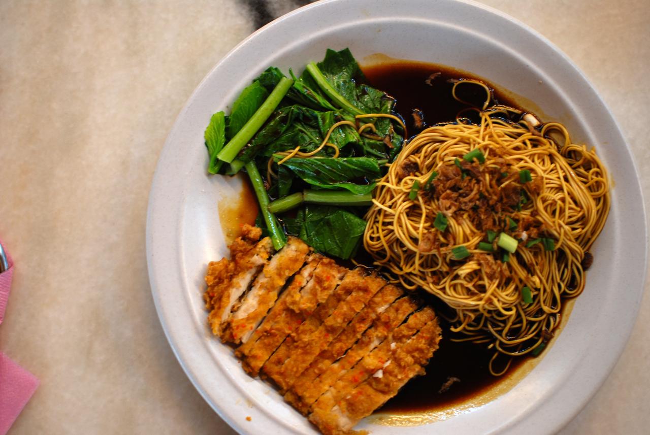 Chicken Chop with Emperor Noodles