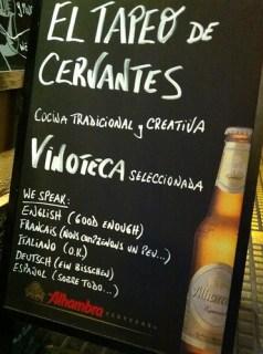 Malaga Tapeo de Cervantes May 2011- - 7