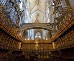 Avila Cathedral choir
