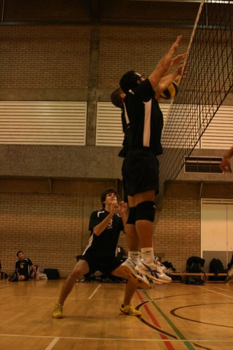 Mens Volleyball v Manchester, 02-12-2009, Photo: Justyn Hardcastle