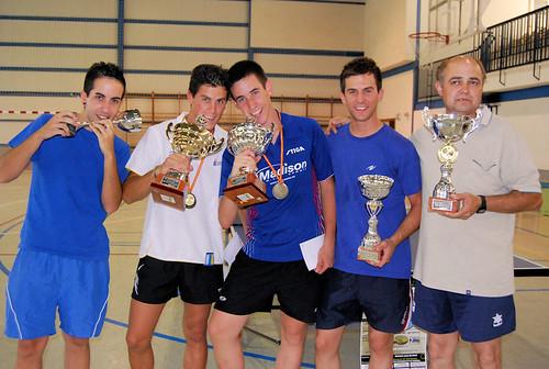 Los vencedores del torneo