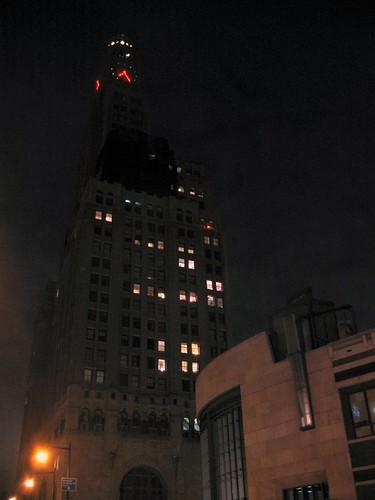 Williamsburg Bank, the tallest building Brooklyn.