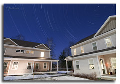 Star Trails over Hanover, NH