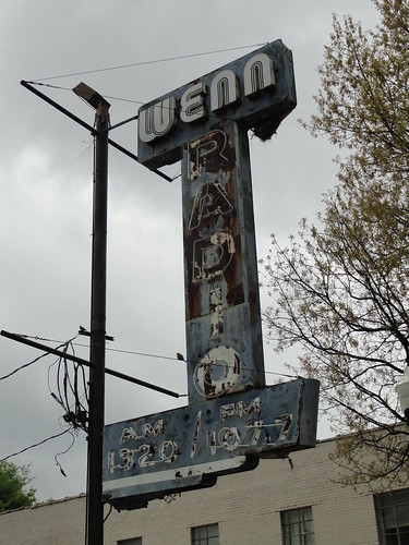 WENN Radio Sign, Birmingham AL