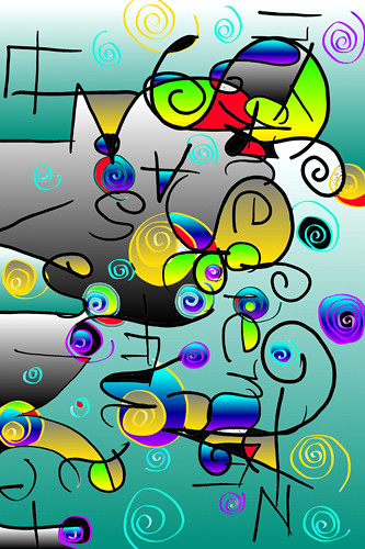 Fantasy digital art (c) 2004, Lynne Medsker