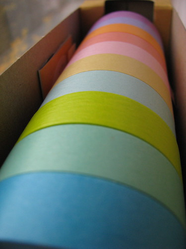 Japanese Masking Tape Colors