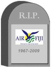 Air Fiji Tombstone