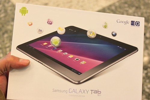 Samsung Galaxy Tab 10.1 Limited Edition at Google I/O 2011