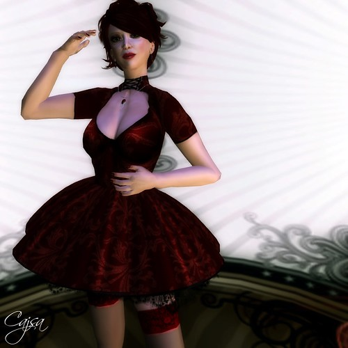 Elise by Draconic Kiss is one of the many fashions at Crimson Shadow -